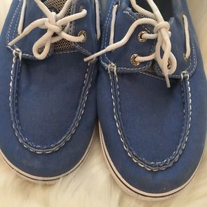 "Sperry top siders ""halyard"" size 6"